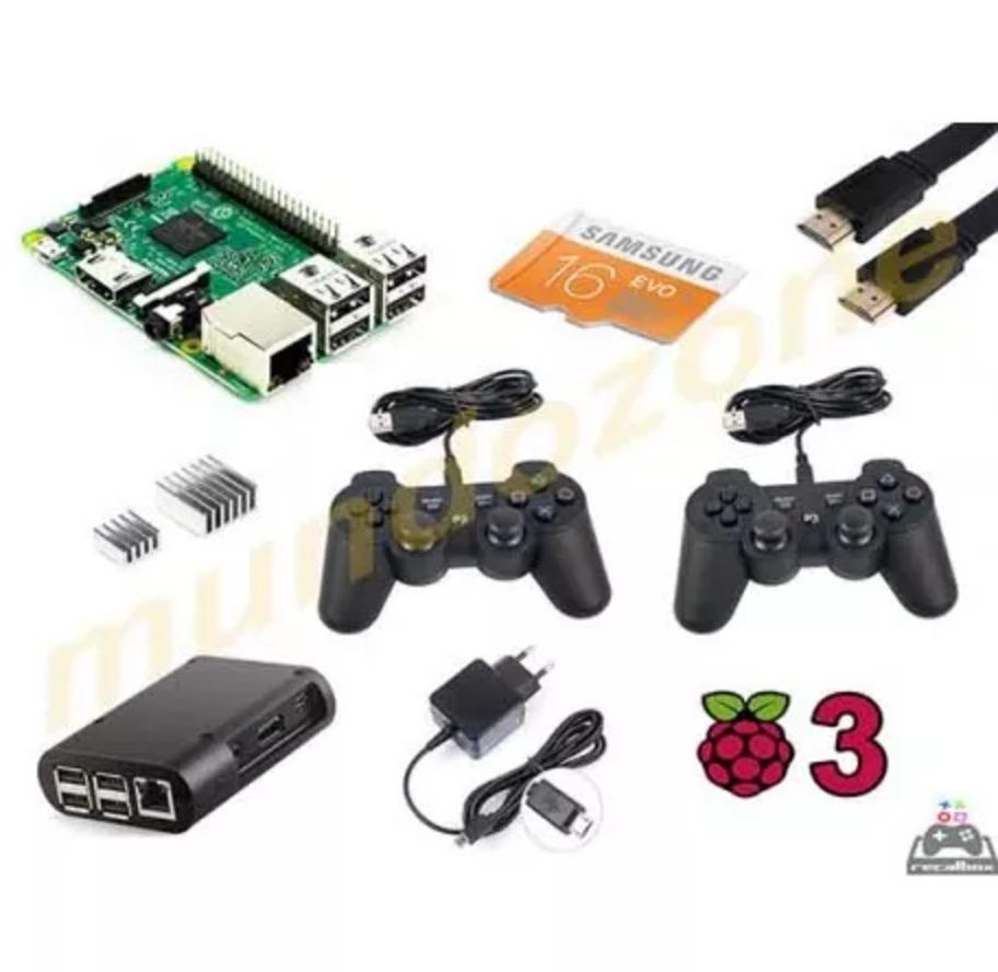 Pack raspberry pi 3 10.000 juegos