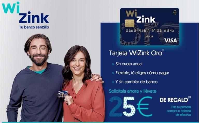 Chollo! 25€ GRATIS gracias a WiZink