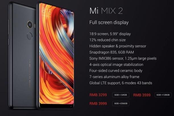 Oferta! Xiaomi Mi Mix 2 6/64GB por 384€ con 2 años de garantia en España (Oferta Cupon Descuento)
