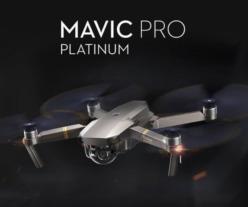 OFERTA! DJI Mavic Pro Platinum por 782€ y Pack Combo por 990€