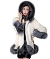 ERROR PRECIO! Abrigo de piel zorro por 5.58€