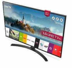 Chollo Ebay! Smart TV LG 4K HDR 43″ 43UJ635V por 349€