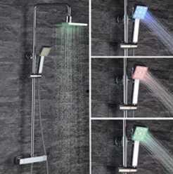 OFERTA AMAZON! Columna ducha LED TERMOSTATICA por 135€ y Columna ducha LED por 99€