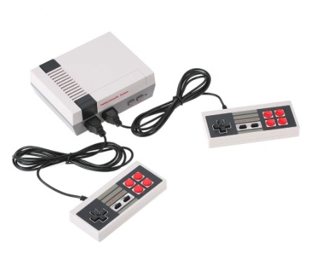 PRECIO MINIMO! Consola Estilo NES + 2 mandos + 620 juegos a 10€
