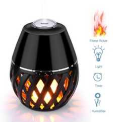 OFERTA AMAZON! Humidificador LED Bulbo por 39.99€