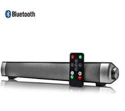 Chollo Amazon! Barra de sonido inalambrica con bluetooth por 29,9€