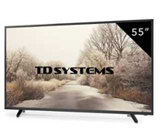 "Oferta Amazon! TV Full HD TDSYSTEMS 55"" por 349€ y 4k por 399€ (Oferta Cupon Descuento)"