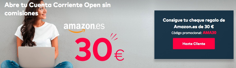 Openbank regalo amazon