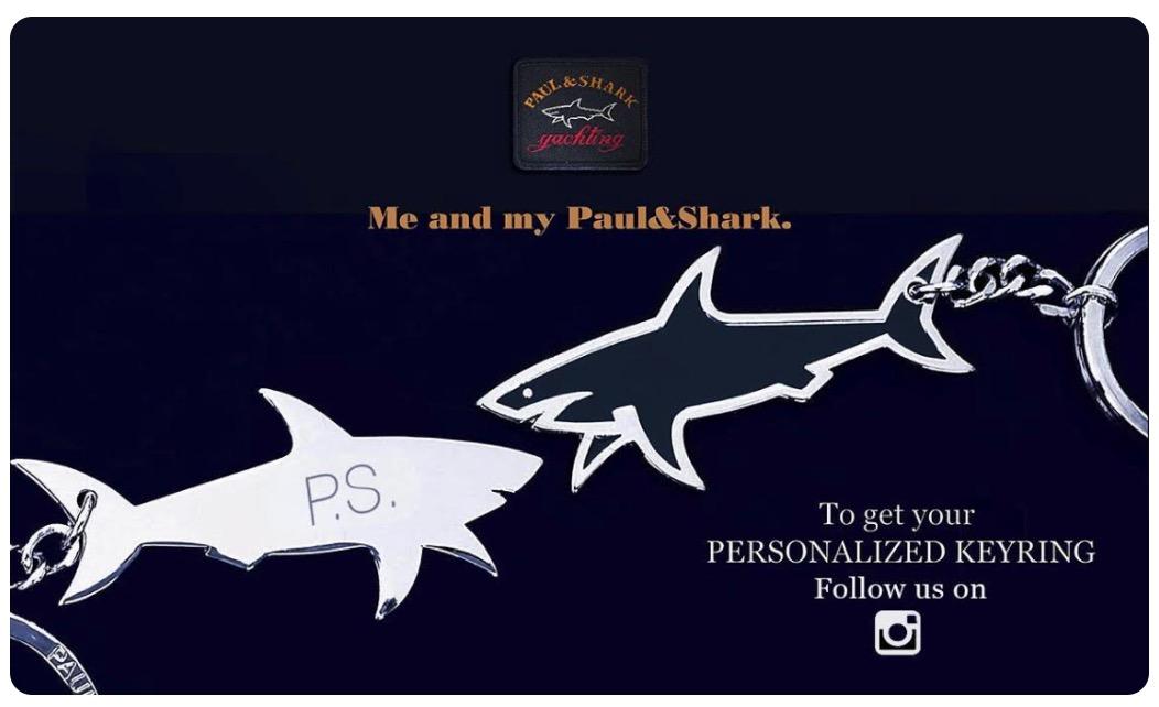 Llavero Paul Shark