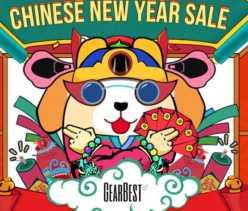 Promocion Año Nuevo Chino de Gearbest