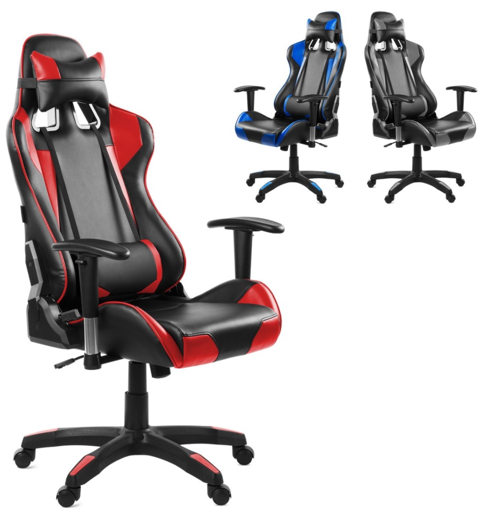 Chollo ebay silla gaming con reposapies por 95 for Rebajas sillas gaming