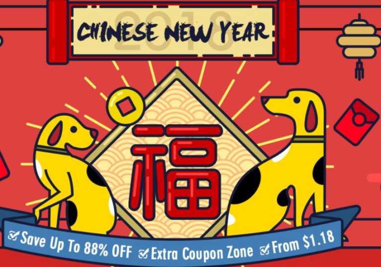Promocion Año Nuevo Chino de Banggood