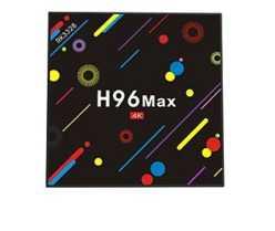 Solo 30 unidades! TV Box H96 Max 4/32GB por 56€ con 2 años de garantia en España
