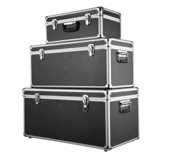 OFERTITA AMAZON! 3x Cajas de Almacenaje Aluminio con Cierre a 79,9€