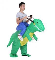 Disfraz Inflable Dinosaurio al mejor precio