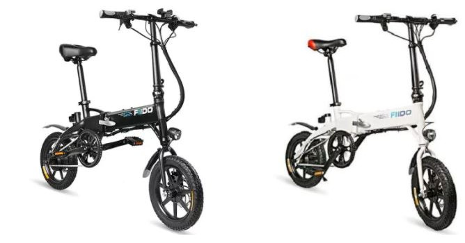 CHOLLO Desde Europa! Bicicleta electrica FIIDO D1 Version con bateria grande 10Ah a 448€