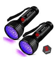 OFERTA AMAZON! Linterna UV de 51 LED por 9€