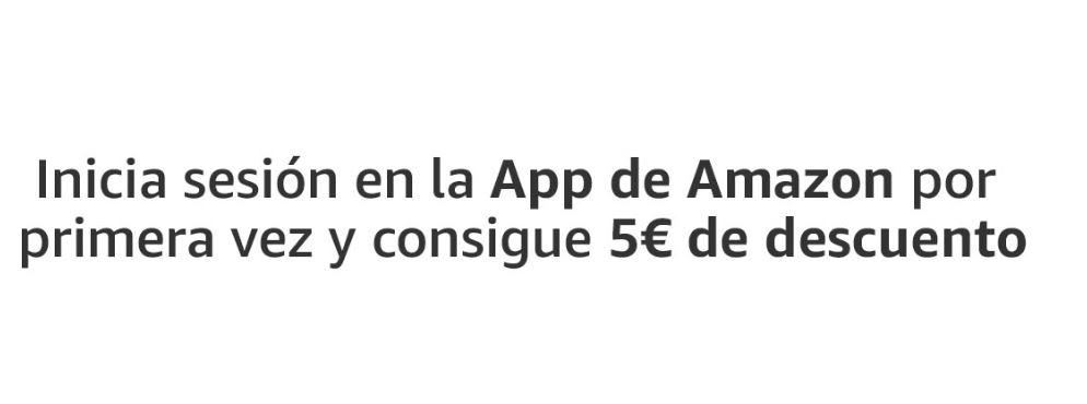 5€ GRATIS en la APP AMAZON