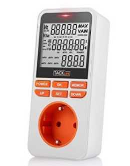 OFERTA AMAZON! Medidor de energia Tacklife-MPM02 por 14.99€ (Oferta Cupon Descuento)