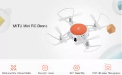 CHOLLO! Drone Xiaomi MITU WIFI FPV por 57€ con 2 años garantía 🇪🇸