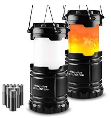 OFERTA AMAZON! 2 unidades Linterna de camping LED a 11.99€