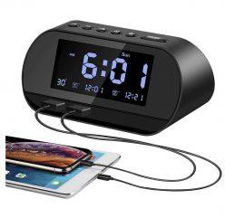OFERTA AMAZON! Reloj despertador USB a 13€