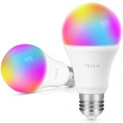 OFERTA AMAZON! Bombillas LED WIFI Teckin compatible Alexa a 17€