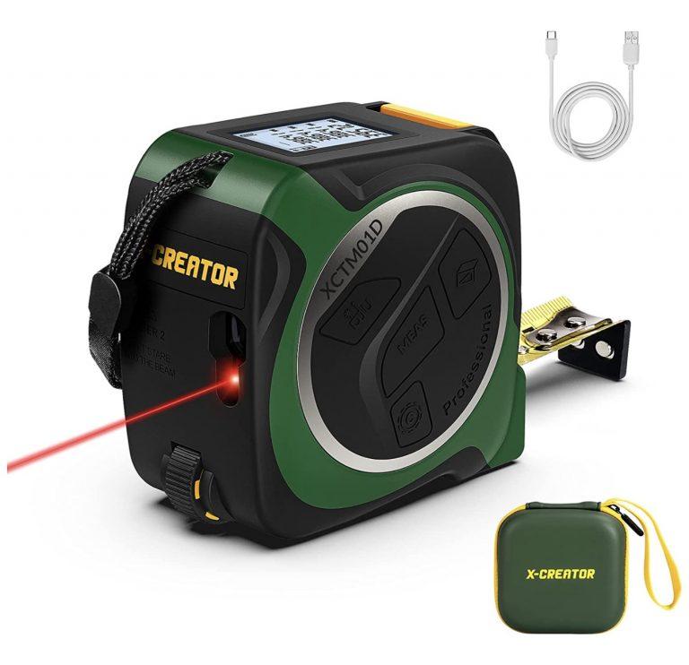 OFERTA AMAZON! Cinta Metrica Laser 3en1 CREATOR a 21,9€
