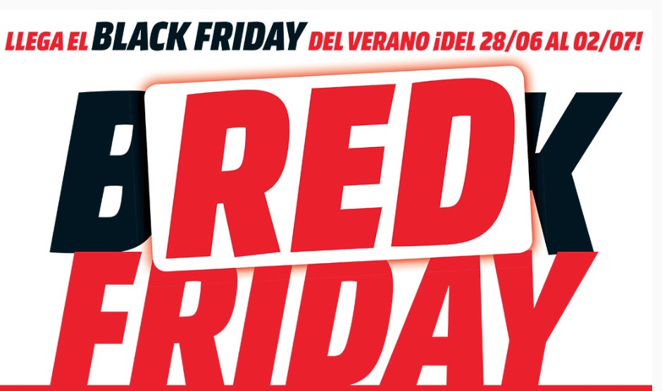 CHOLLO Red Friday Mediamarkt con precios espectaculares