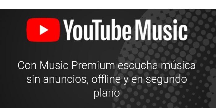 3 meses GRATIS de Youtube Music Premium
