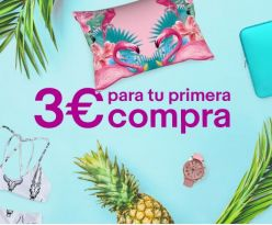 3€ GRATIS en Ebay sin compra minima para nuevos usuarios