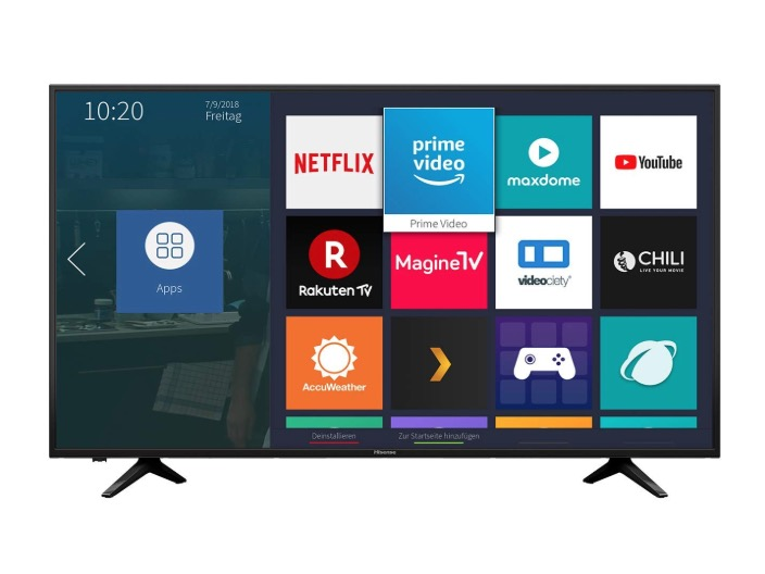 CHOLLO Amazon! TV Hisense 4K UHD HDR 65″ a 539€