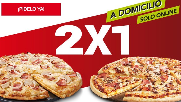 2x1 Telepizza