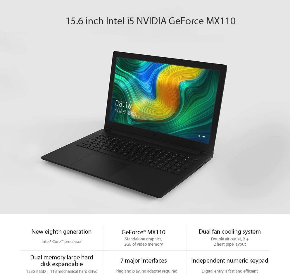 Xiaomi Laptop 15,6