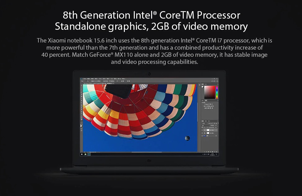 xiaomi laptopi5-8250H