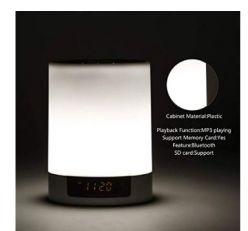 OFERTA AMAZON! Lampara de noche con despertador y MP3 por 13,99€