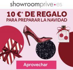 70% de descuento + 10€ GRATIS en Showroomprive