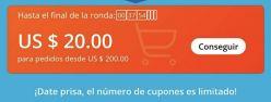 Recopilación Mejores ofertas! CUPONAZO LOCO! 20$ Aliexpress