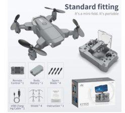 PRECIAZO! Drone KY905 plegable a 5,5€
