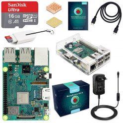 CHOLLO! Pack Nueva Raspberry Pi 3 Model B+ Plus + Micro SD + Extras a 58€