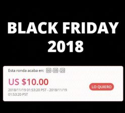 Cupones Black Friday Aliexpress de hasta 10$