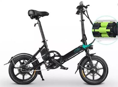 CHOLLO desde Europa! Bicicleta eléctrica plegable Fiido D3 por 424€