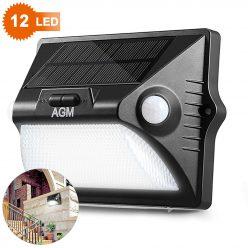 Chollo Amazon! Lampara solar con sensor de movimiento por 4,9€