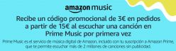 CHOLLAZO AMAZON! 3€ GRATIS al usar Amazon Music