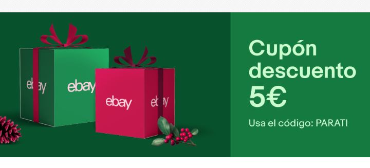 Cupon 5€ GRATIS en EBAY