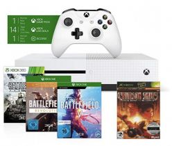 CHOLLO AMAZON! Xbox One S 1TB + 4 juegos a 189€