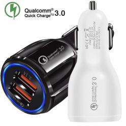OFERTITA! Cargador Dual USB coche QC 3.0 por 2€