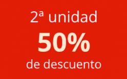 Descuento Amazon del 50% en la 2ª Unidad en miles de productos hogar