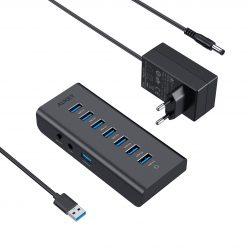 Chollo! Hub USB 3.0 de 7 puertos por 19,9€