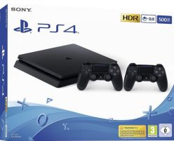 CHOLLO! PS4 Slim+ 2 mandos + Extras desde 239€